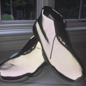 AIR JORDONS Shoes. Reflective. BRAND NEW